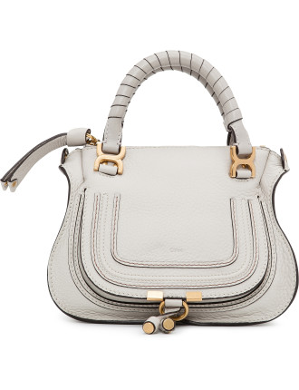 Mini Marcie Grained Calf Satchel