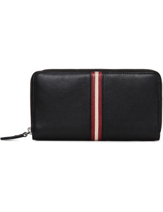Urissa Zip Around Wallet With Trainspotting Trim