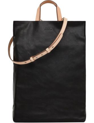 Shina Nappa Medium Vertical Shopper