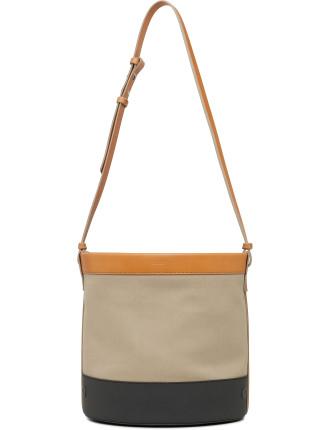 Betas Canvas Bucket Bag