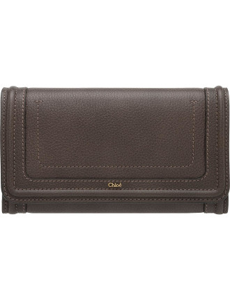 Paraty Calf Long Flap Wallet