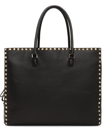 Rockstud Nappa Large Work Bag