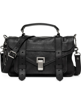 PS1 Tiny Lux Leather Satchel