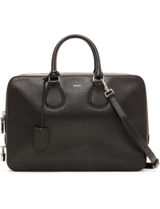 Mayfair Bond Textured Calf Medium Zip Briefcase