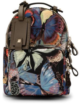 Camo Butterflies Mini Backpack