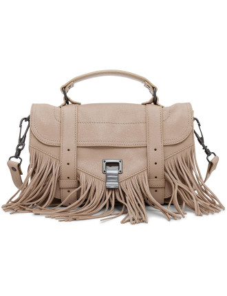Ps1 Fringe Tiny Satchel In Lux Leather