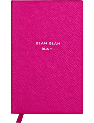 Blah Blah Blah Panama Notebook