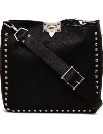 Small Rockstud Hobo Bag