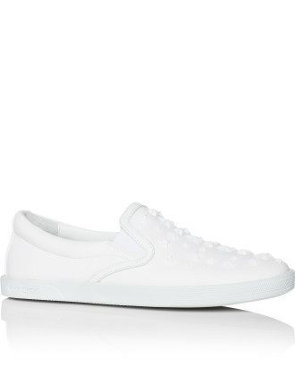 Demi Sneaker Rubberised Stars Rubberized Leather With Stars