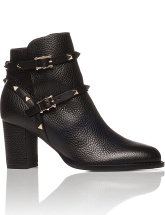 Multistrap Leather Boot