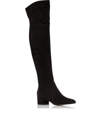 Long Over The Knee Boot 40mm Suede