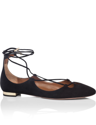 Dancer Flat Suede