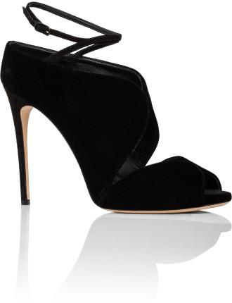Sandal 100 In Velvet T974 Velvet