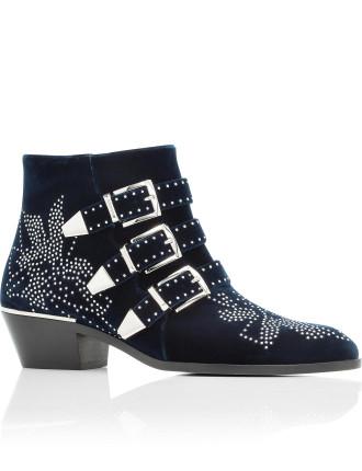 Sussana Velvet Boot