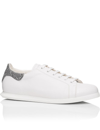 Plimsole With Glitter Back