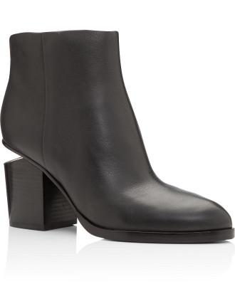 Gabi Boot Black Rhodium