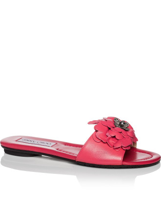 Neave Flat With Flower Detail Nfq
