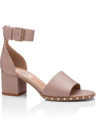 Soul Rockstud - Ankle Flat Sandal W/ Studded Sole