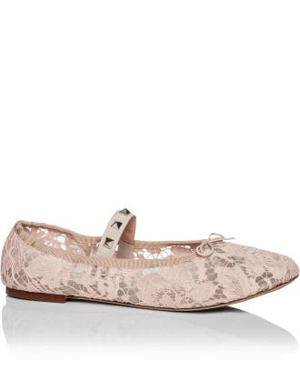 Rockstud - Lace Ballerina W/ Studded Elastic Bad