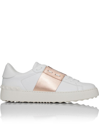 Mw2s0781 Open - White Sneaker W/Band (Rose Gold)