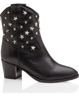 Vgs Multi Star Noir Cowboy Boot
