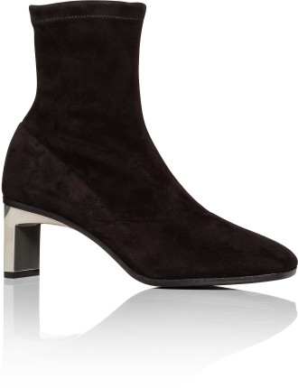 STRETCH SUEDE BLADE 60MM ANKLE BOOT
