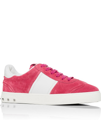 FLY CREW SNEAKER SUEDE W/MICRO BACK STUDS