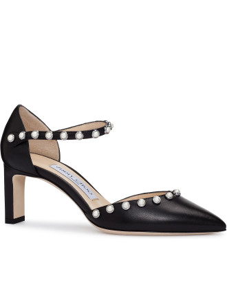 LEEMA 65DAS MARY JANE PUMP WITH PEARLS
