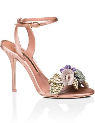 Satin Lilico Glitter Sandal 100
