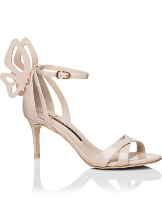 Calf Leather Madame Chiara Mid Sandal 70