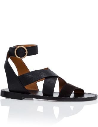 Quinty Flat Sandal