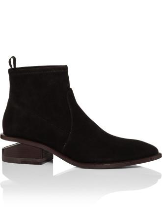 Kori Strech Black Suede Boot