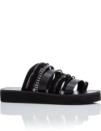 Eva Multi Stripe Sandal