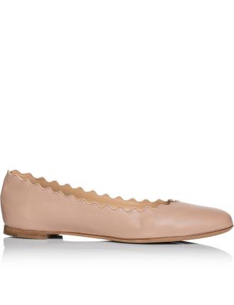 Core Ch24160 E75 Lauren Scallop Ballerina Nappa