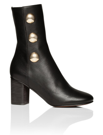 Ch29191 E42 60mm Boot With 3 Gold Buttons