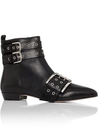 Bootie With Buckles