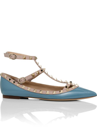 Nw1s0376  Vnw Patent Cage Ballerina Rockstud