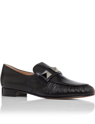 Loafer Black With Studs