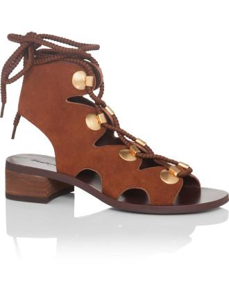 Sb28231 5292 Bill Lace Up Sandal Flat