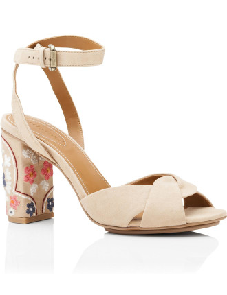 Sb29132 6172 Leon 90mm Sandal With Embroidery