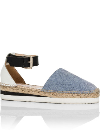 Ankle Strap Espadrille (Glyn)
