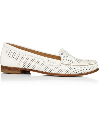 Machira Patent Perforated Loafer