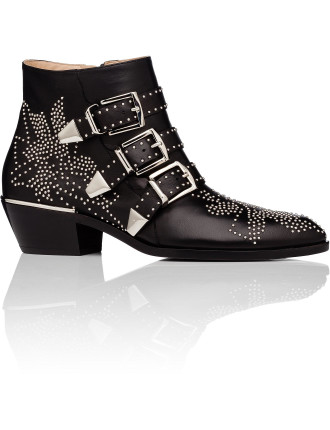 Susanna Boot W/ Silver Studs