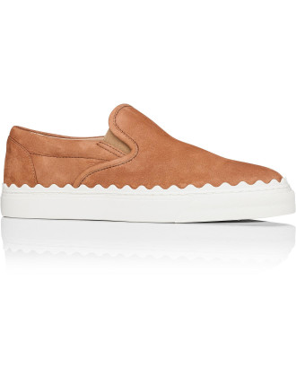 Scallop Sneaker