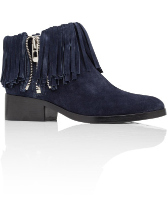 Alexa Ankle Boot With Fringe