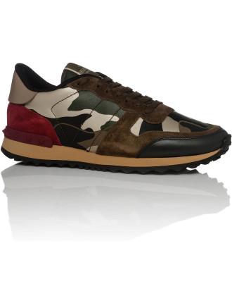 Camu Noir Sneaker