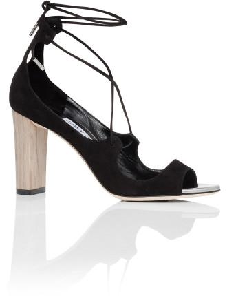 Vernie 85mm Lace Front Sandal