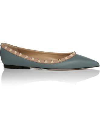 Rockstud Ballerina Flat