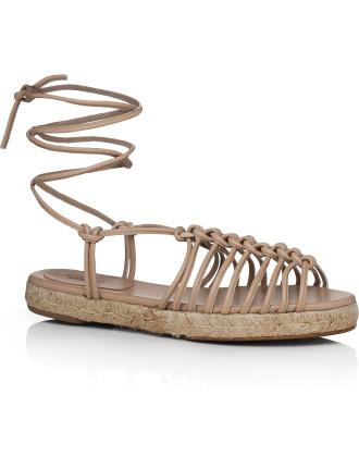 Espadrille Flat Sandal