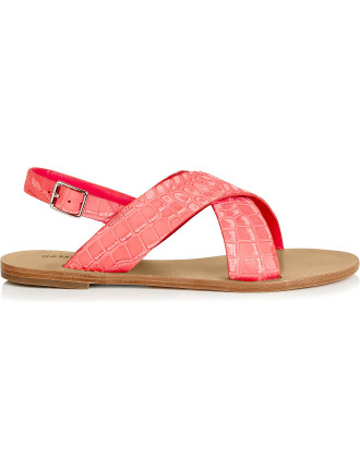 Jane Criss Cross Sandal With Slingback